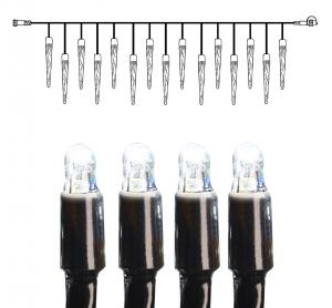 System LED Istappsslinga Extra 4x0,4m Kallvit