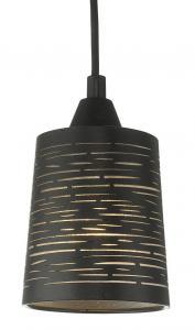 CANDY Fönsterlampa 10cm Svart