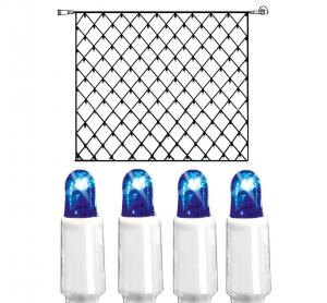 System LED Ljusnät Extra 3x3m Blå