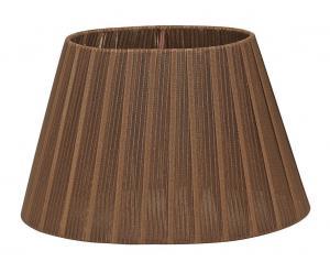 LAMPSKÄRM Organza 22cm Brun