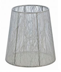 ORIVA Lampskärm Organza 14,5cm Vit mönster