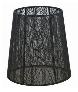LAMPSKÄRM Organza 17cm Svart