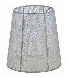 LAMPSKÄRM Organza 17cm Vit