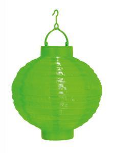 FESTIVAL Solcell Papperslykta 22cm Grön