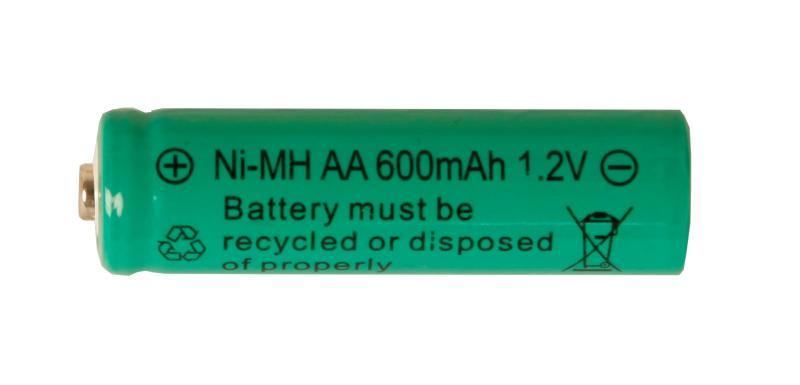 Batteri Solcell AA 1,2V Ni-MH Laddbart