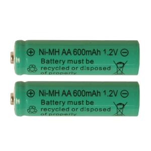 BATTERI 2-Pack Laddbart AA 1,2V 600mAh Ni-MH