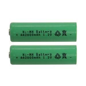 BATTERI 2-Pack Laddbart AA 1,2V 2000mAh Ni-MH