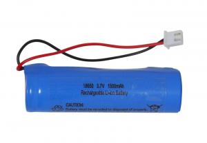 BATTERI 18650 3,7V 1500mAh Li-ion JST-PH 2mm plug