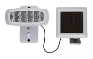 POWERSPOT Solcells-Spotlight 15cm Grå