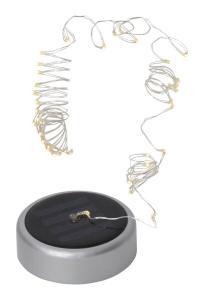 DEW DROP Solcells-Dekoration 7cm Silver