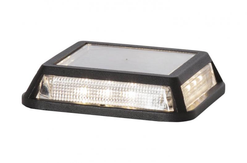 DRIVEWAY Solcells-spotlight 3cm Svart IP44