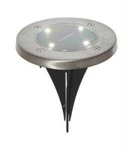 LAWNLIGHT 3-PACK Solcellsljus 2cm Silver IP44