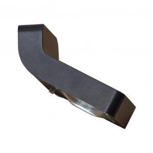 WALLY Solcells-vägglykta 5,5cm Svart IP44