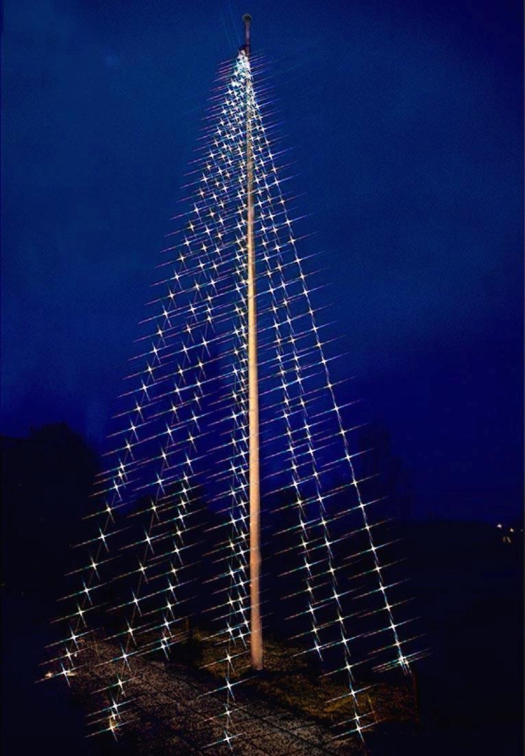 flaggstångsbelysning 9 meter