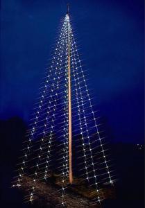 Flaggstångsbelysning Varmvit & Kallvit Flagpole-Tree