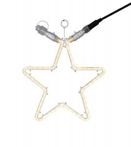 EXTRA SYSTEM 24 Stjärna 32cm 60LED Vit IP44