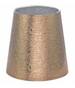 LAMPSKÄRM PVC 17cm Guld/Silver