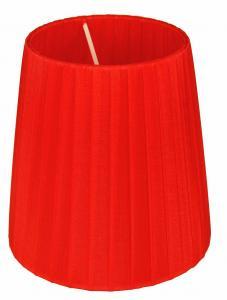 ORIVA Lampskärm Organza 14,5cm Röd