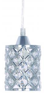FÖNSTERLAMPA Kristall K5 9cm Krom