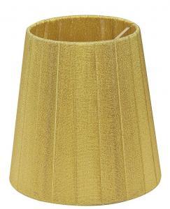GLITTER Lampskärm Organza 14,5cm Guld
