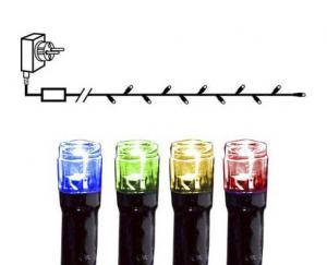 SERIE LED Ljusslinga 7,2m 120LED IP44 Flerfärgad Svart