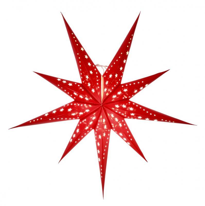 Polaris Pappersstjärna 80 cm Röd