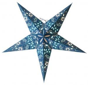 Bright Pappersstjärna 60 cm Blå