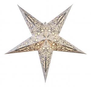 BLAZE Pappersstjärna 60cm Vit