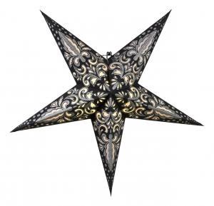 BLAZE Pappersstjärna 60cm Svart