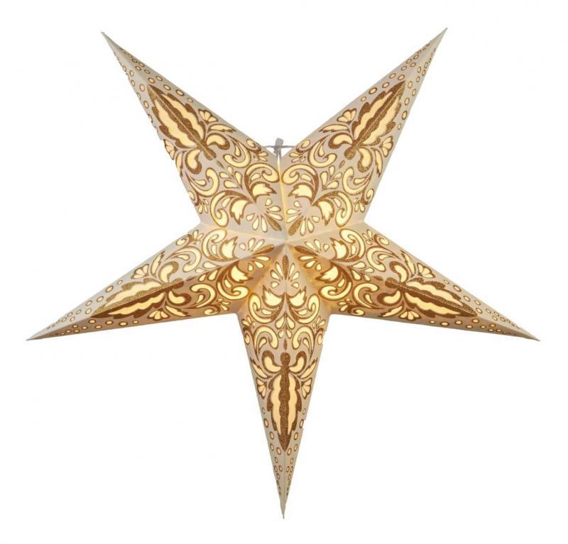 BLAZE Pappersstjärna 62cm Guld