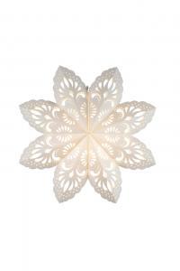 Lovely Pappersstjärna 55 cm Vit