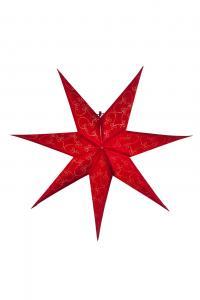 Decorus Pappersstjärna 63 cm Röd