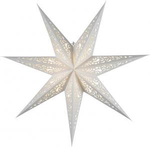 LACE Lös Pappersstjärna 80cm Vit