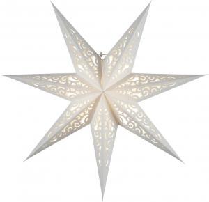 LACE Lös Pappersstjärna 45cm Vit