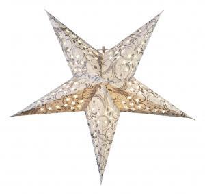 DAZZLING Pappersstjärna 45cm Vit