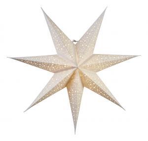 BLINKA Pappersstjärna 62cm Vit