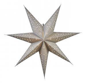 BLINKA Pappersstjärna 62cm Silver