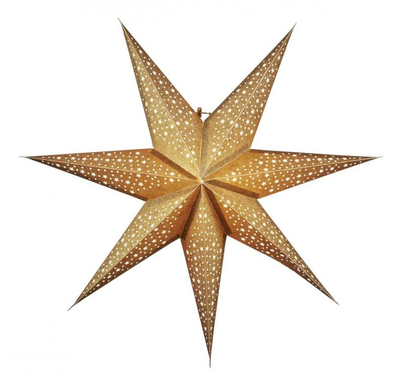 BLINKA Pappersstjärna 63cm Guld