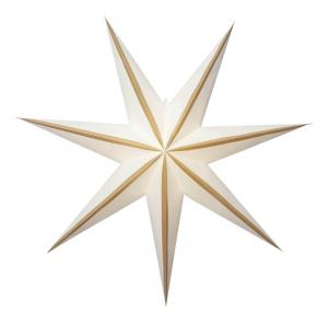 RANDI Pappersstjärna 75cm Guld