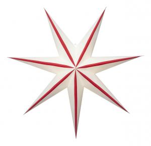 RANDI Pappersstjärna 78cm Röd
