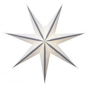 RANDI Pappersstjärna 78cm Grå