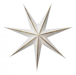 LYSA Pappersstjärna 63cm Vit