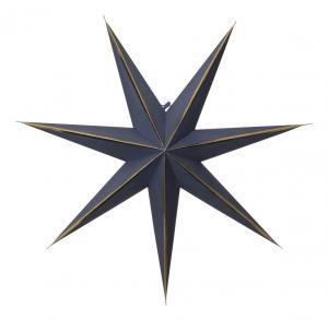 LYSA Pappersstjärna 63cm Blå