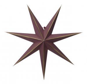 LYSA Pappersstjärna 63cm Röd