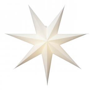 PLAIN Pappersstjärna 64cm Vit