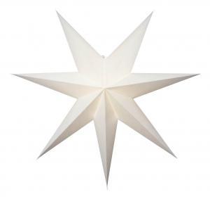 PLAIN Pappersstjärna 78cm Vit