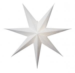 DECORUS Pappersstjärna 80cm Vit