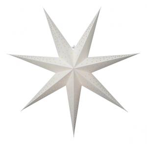 POINT Pappersstjärna 63cm Vit