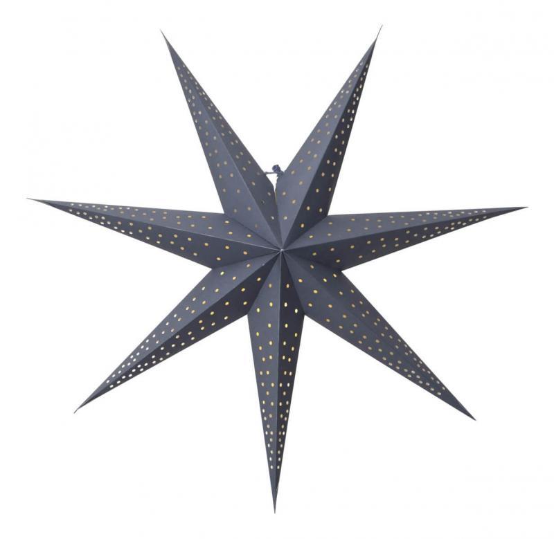 POINT Pappersstjärna 63cm Blå