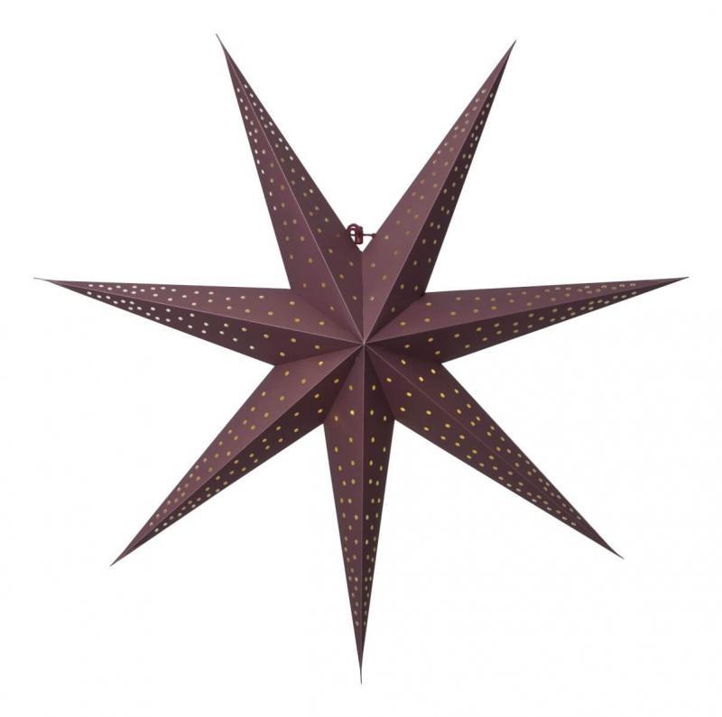 POINT Pappersstjärna 63cm Röd